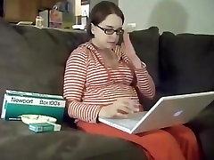 16 weeks pregnant newport woman smoking.