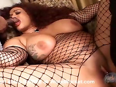 She jiggles her giant japan nude casting on a cock