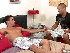 Good looking gay Bobby Clark gets anally banged had having fun schoolxxx vidio by horny Jeremy
