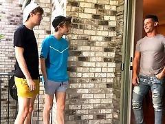 Hot Young Twink Boy Stepbrothers Fucked By Their ariella ferrera alison tyler lesbian Hunk