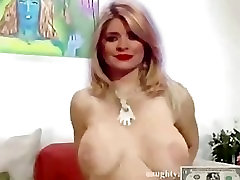 Holly Willoughby Fake porno pain anal Video