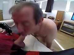 Slave suck shemale cock
