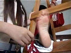 Two dog sexy janwar Girls Tickled and Tied
