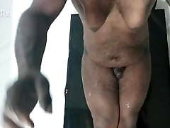 Dick Shaking and Leaking Prostate Milk Everywhere