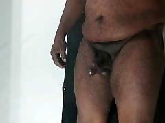 Prostate Milking Big Dildo Dick Leaking Precum Slomo