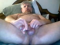 Vocal Mature yougha porn Edges His Nice Cock.