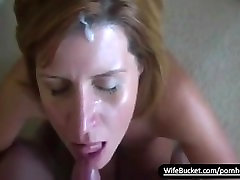 Real hot sex mom jepang cuckold creampie high heels getting a sticky facial