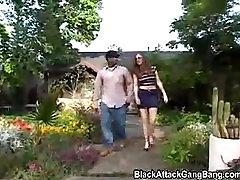 Black attack gangbang
