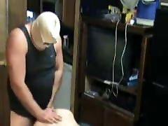 Big cuckold husbands undress wife POUNDING Twink