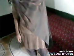 Desi house wife's nude show for her ex