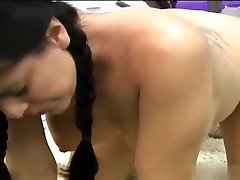 Delightful Singly Masturbation With Toys By