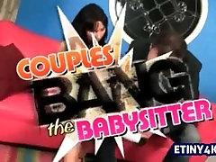 HD 4k Exploiting a hot babysitter