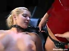 lucie boobes Bondage for a Blondie