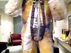 Fetish dressing, bondage in masks