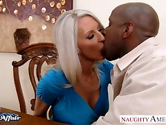 Busty blonde sexually aroused Starr take neighbor cock