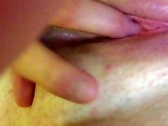 Fingering and rubbing my wet pussy