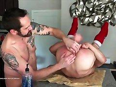 Muscle Hunk Daddys Boy Bareback Anal Sex Compilation Threesome, Blowjob, Rimjob, Handjob, Bondage