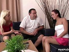Hot 3some terra batrek a young lady