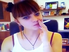 webcam smoking