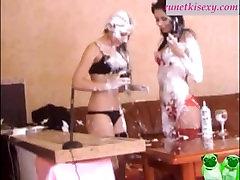 Chertovochka & PhoenixGold VIP-Show Hot Lesbies