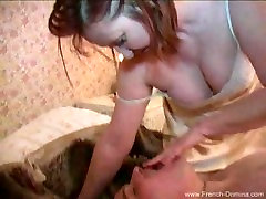 Mature French Domina Foot&Boot&Pussy worship