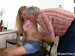 Old Goes nina 693 - Rosy is an attention whore