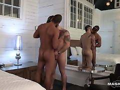 Muscular Gay Pornstar Blows Straight Male Stripper