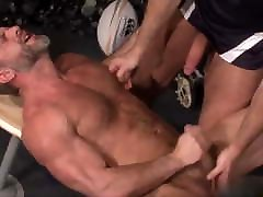 mature, sex 17 scool men take off their tops and love nipple play!