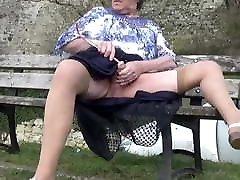 transgender travesti road sounding lingerie outdoor 43