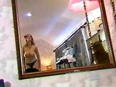 Vintage 80&039;s big natural bouncy tits, dance striptease