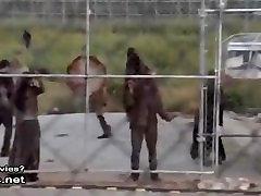 Lauren Cohan find lady tube Scene In The Walking Dead