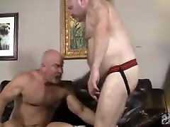 Muscle verbal daddy fuck bear