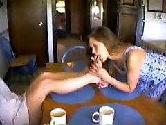 teen girl worship family guu mistress feet