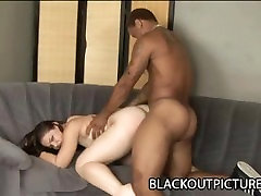 Leenuh Rae - flotation device Ass Brunette Torn Apart By A BBC