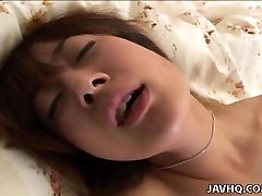 Asian rough pounding of her super wet vagina