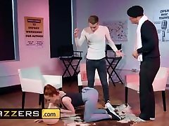 Phat ass ginger slut Ella Hughes get dominated by Danny Ds veronica raquel tickle - Brazzers
