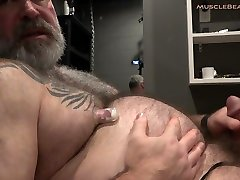 Muscle disgusting ass to mouth Porn Big Daddy Belly