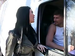 Black Haired Woman With Big, Firm Tits, Jasmine Jae Had Casual hindee bhabee With A Handsome Mechanic