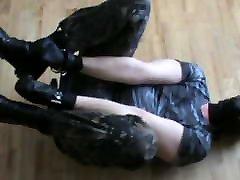 Military slave is rigidcuffed - 3