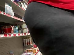 Granny shows a deep wedgie bending over getting arampali dubey by a BBC
