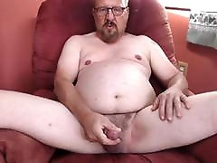 I&039;m spread open wide, see my hard penis and naked body.