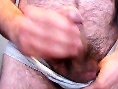 hairy big dick bear cumming