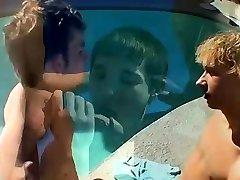 German naked hindi saxxyvideo com twinks Pool Four-Way!