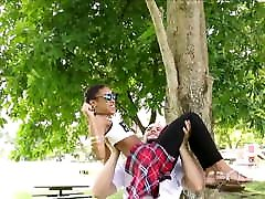 Tiny Young Black Ebony Teen Fucked By A Big White Cock