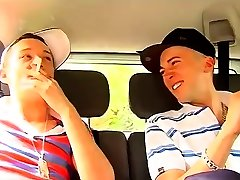 Ful movietures of fresh young gay sex boys Driving around to