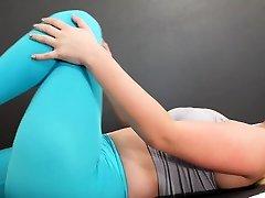Soft Blonde Teen Eliza Eves Nude Yoga And Masturbation