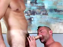 Hungry thin and tall Starves For BF&039;s Super Thick Cock