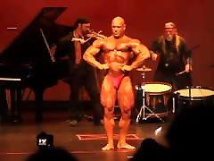 Rusty Jeffers in a Bodybuilding contest