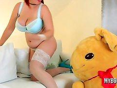 Natural Big Boobs Alexsis Faye Bouncing Tits