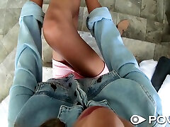 Sleeping dude is woken up with nice blowjob by horny Hime Marie